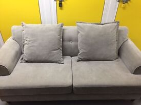 Stunning grey 3 seater sofa great condition