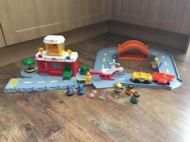Selection of Fisher Price Little People toys