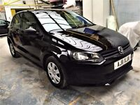 2011 VW POLO 1.2S, A/C, 5DR, 53,000 MILES, FULL SERVICE HISTORY, 2 KEEPERS, 2 KEYS, MINT CONDITION