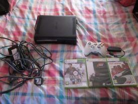 XBOX 360 ELITE 120GB HDMI CONSOLE BUNDLE 3 GAMES,NETWORK ADAPTOR,CONTROLLER
