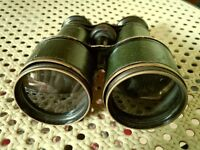 Must go ! Vintage binocular , probably from beginning of last century and free 7×50 binocular