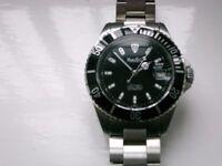 Marcello C Nettuno 3 automatic mechanical diver's wristwatch - Swiss - Rolex Submariner homage- NOS