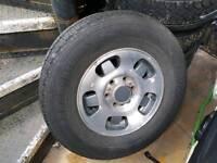 Isuzu trooper wheels & tyres