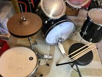 Drum Kit, Stool and Grade Book
