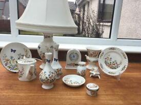 12 pieces of Aynsley Country Garden
