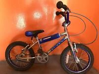 Kids Raleigh burner 16 inch bike boys child