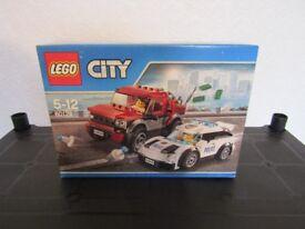 lego city police chase 60128