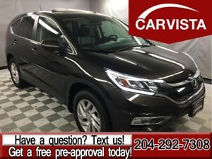 2015 Honda CR-V EX-L AWD -SUNROOF/LEATHER/NO ACCIDENTS-