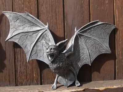 Dekofigur Fledermaus 35cm/25cm Wandrelief GROß Mystik Gothic Fantasy - Fledermaus Dekorationen