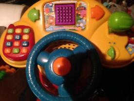 Vtech 3 in 1 bike ride on sit on