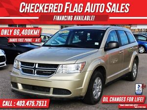 2011 Dodge Journey W/ HANDS FREE PHONE-ONLY 86,400KM!