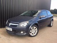2007 Vauxhall Astra 1.6i 16v Design Sport Hatch 3dr Half Leather Full Service History, 2Keys, May PX