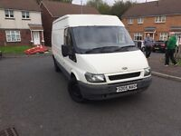 Ford transit high top. 1yrs mot just been welded.