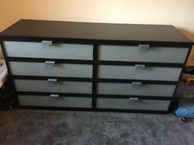 8 drawer chest of draws