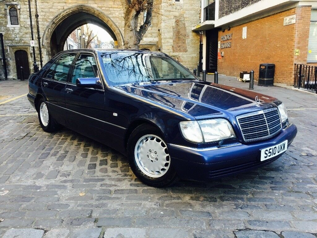 1999 S Reg Mercedes Benz W140 S320 Fully loaded Excellent condition ...