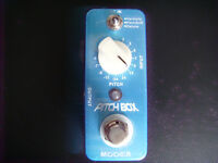 Mooer Pitch Box, octaver, guitar pedal, with original box and manual.