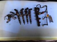 Nissan qashqa note Renault mecane scenic 1.5 K9K fuel injectors and kit