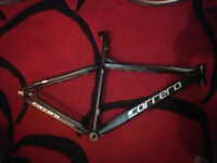 Carrera Vengeance bicycle frame MTB ATB replacement bare offroad dirt bike crosscountry freeride