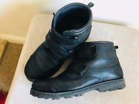 TIMBERLAND Boys Black Leather Boots size - UK 6