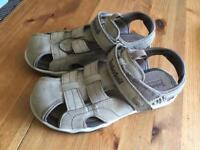 Timberland sandals Leather size 2.5 child [new] . Size 3 in reality[TIMBERLAND sizes big]