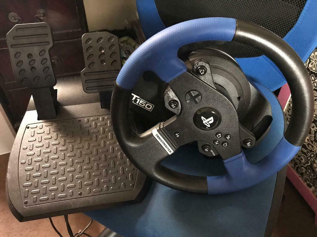 Thrustmaster T150 steering wheel - PS4/PC | in Portsmouth, Hampshire |  Gumtree