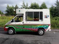 Ice cream van L reg (1993) 2.5 engine