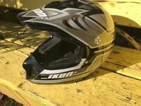 Motorcycle Helmet Ikon