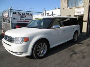2009 Ford Flex LIMITED AWD DVD NAVIGATION TOIT PANORAMIQUE, JAMA