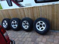 Nissan Navara d22 wheels