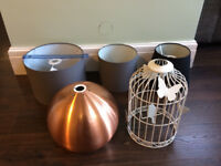 Selection of 5 Lightshades (individually priced)