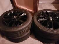 Corsa Limited Ed Black Alloys