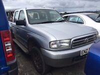 2003 2.5 Diesel Mazda B2500 Crew Cab, Breaking for parts only. Postage Nationwide