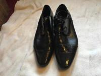 Xinyuan men's casual shoes black size 40 used one time £5