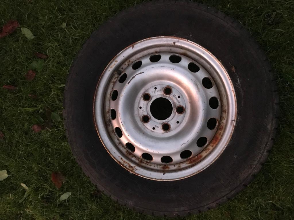 195/70/15 commercial tyres on Mercedes rims