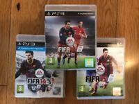 PS3 FIFA GAMES BUNDLE