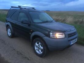 Land Rover freelander tdi commercial
