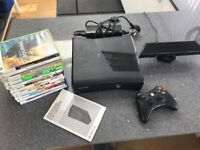 Xbox 360 with Kinect & 13 games