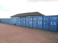 SECURE SHIPPING CONTAINER STORAGE - 20FT/8FT - CLEAN , WIND AND WATER TIGHT - IN KIRRIEMUIR ANGUS