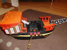 FISHER PRICE PIRATE SHIP