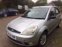 2004 Ford Fiesta diesel year Mot £30 year tax