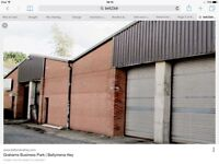 2000 sqft Warehouse/Workshop/Storage unit for rent - 3 Phase electric onsite