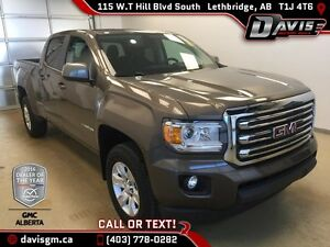 2015 GMC Canyon 4WD Crew Cab SLE-Fully Maintained, Low Mileage,H