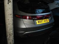 BREAKING honda civic breaking for all parts you can see on all cars call for more information please