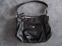 black handbag - Jane Shilton