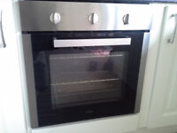 Built in gas oven
