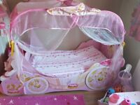 Girls Pink Bed