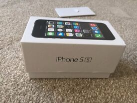IPHONE 5S UNLOCKED, 16GB SPACE GRAY (LOOKS BRAND NEW)
