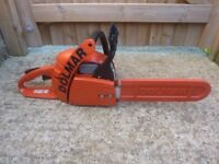 Dolmar ps45 german made chainsaw mint condition cost £400