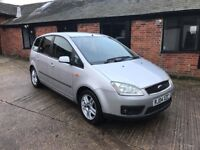 low mileage Ford Cmax just 63,000 miles from new and benefits from having a full 12 months mot