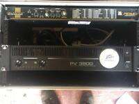 PEAVEY 3800 power amp perfect order. Little used. Was bought new as a backup